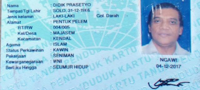 agama almarhum Didi Kempot