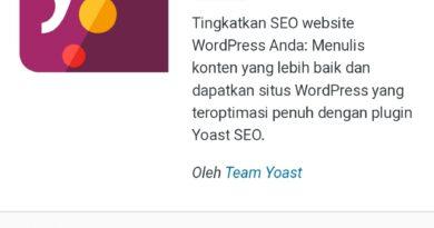 Cara mudah membuat sitemap di wordpress.