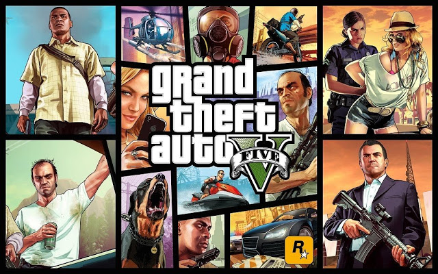 Download GTA 5 Android APK + Data Game GTA V Gratis di Epic Games Store