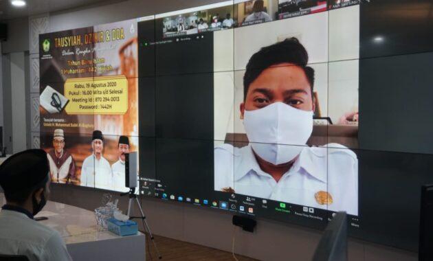 Bupati Gowa Hadiri Webinar Internasional Ketajaman Mata Pena Syekh Yusuf