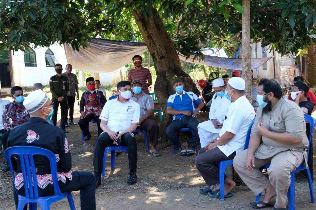 Bupati Gowa Silaturahmi dengan Pengurus Ponpes Khalid Bin Walid