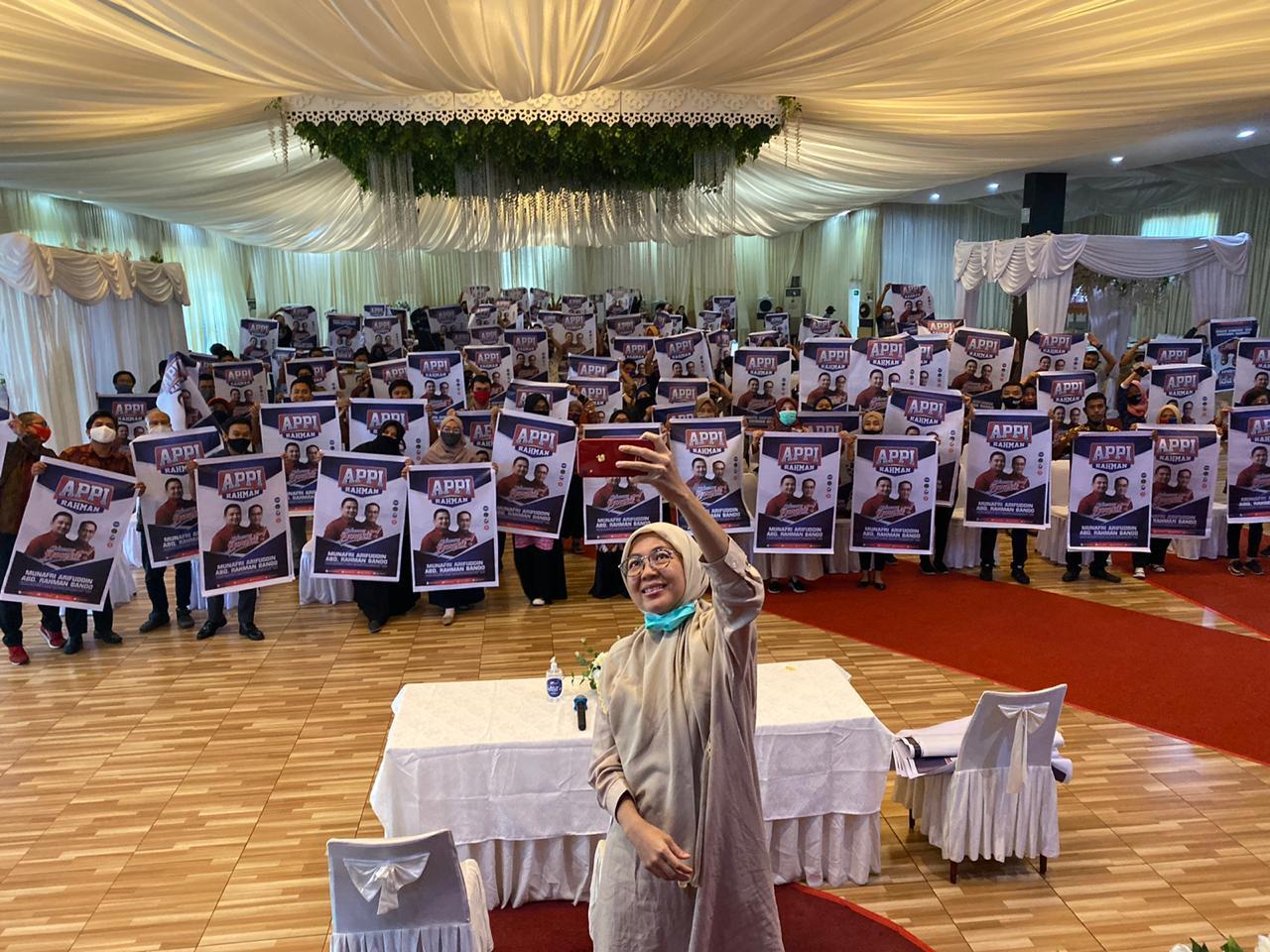 Melinda Aksa Ajak Karyawan Bosowa