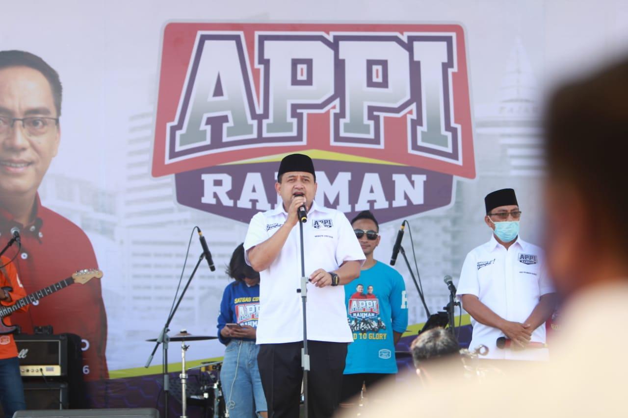 Appi Apresiasi Temu Alumni Nasional Unhas