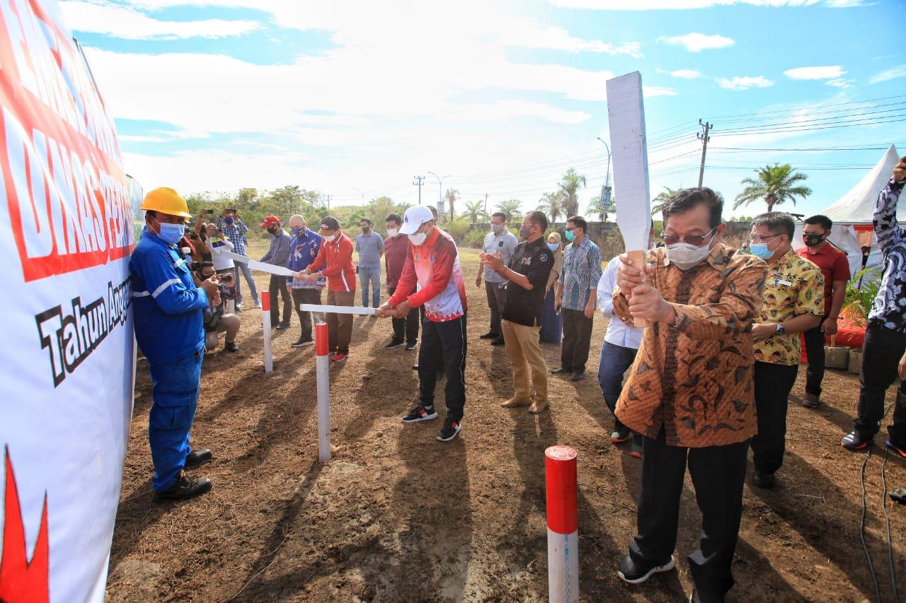 Aksa Mahmud Hibahkan Lahan ke Pemkot Makassar