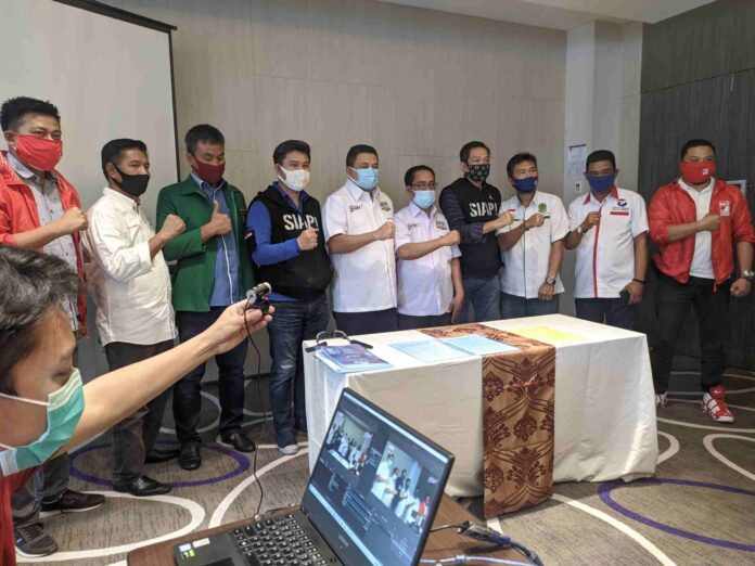 Appi-Rahman Mendaftar di KPU Makassar