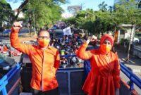 Debat Calon Walikota Makassar, Danny-Fatma Tak Permasalahkan Lokasi Debat