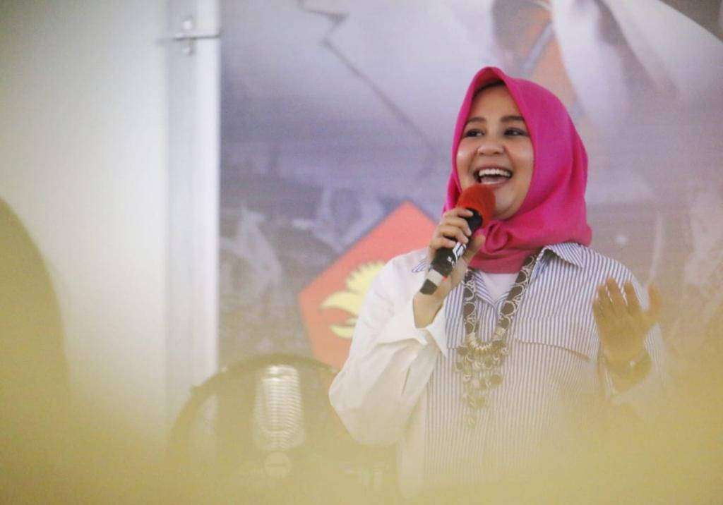 Fatmawati Rusdi Calon Walikota Makassar Harap Warga Bersatu