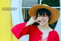 Cosplay One Piece Luffy