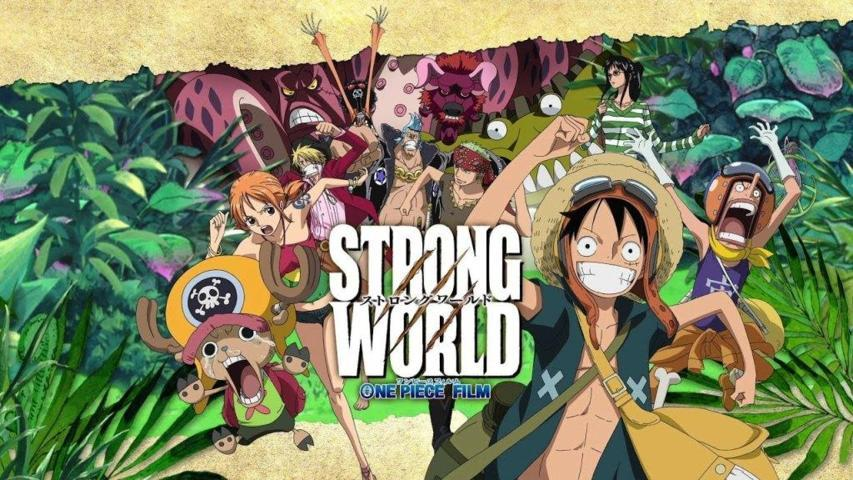 Strong World Film One Piece The Movie Terbaik yang Paling Seru Dinonton