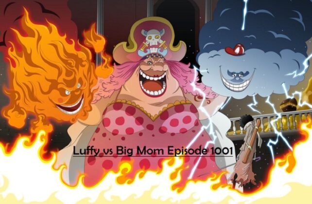Luffy vs Big Mom Episode 1001, Big Mama Marah Besar, Rilis 17 Januari