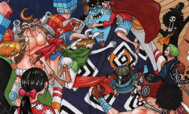 One Piece Chapter 1000, Jinbe Anggota Kelompok Topi Jerami Ke-10, Apakah Tak akan Berkhianat