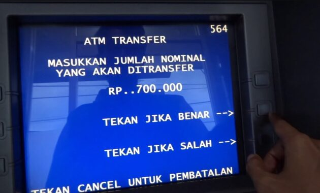 Cara Transfer Uang Tunai Lewat ATM BRI