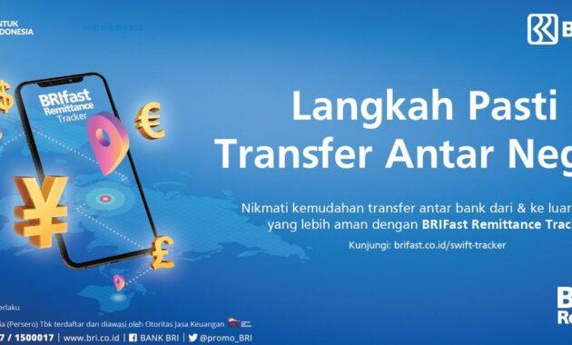 Cara Transfer Uang ke Luar Negeri Lewat BRI