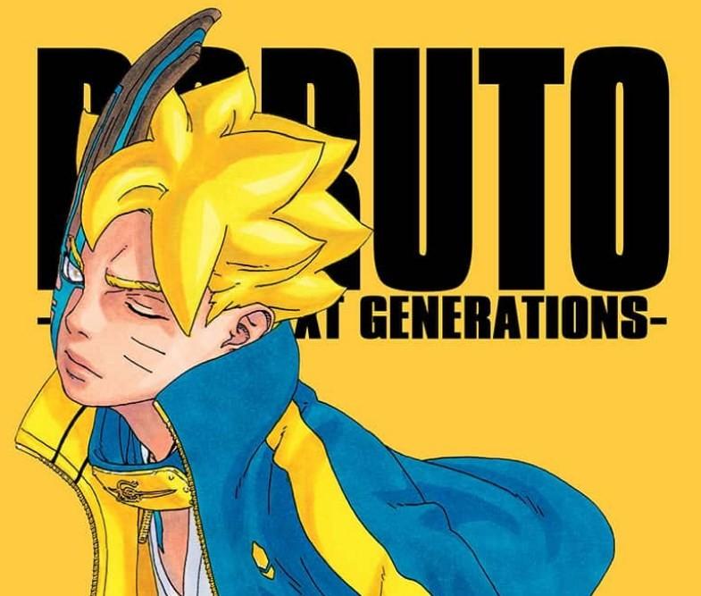Manga Boruto, Manga Boruto 55, Komik Boruto