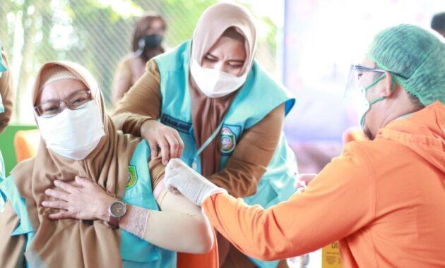 Vaksinasi Babak II Mulai, Kota Parepare Sasar Pelayan Masyarakat Sampai Pedagang Pasar