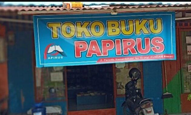 Alamat Toko Buku di Makassar