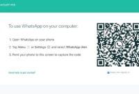 Kegunaan Whatsapp Web